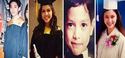 These graduation photos of 20 famous Pinoy celebrities have gone viral! Number 3 will blow your mind!