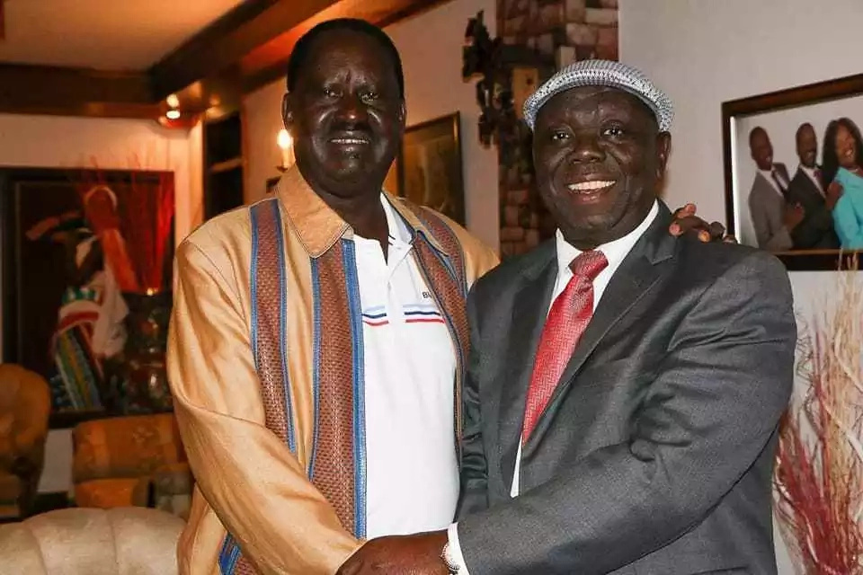 Raila Odinga's emotional tribute to fallen Zimbabwe opposition leader