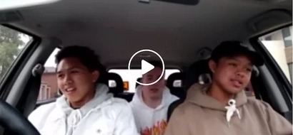 These kids rap effortlessly but watch when the American does it in Filipino!