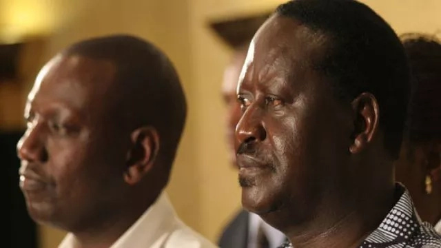 Raila has no capacity to compete -DP Ruto