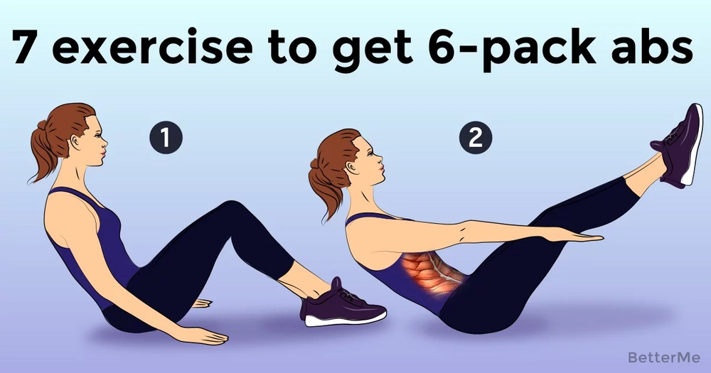 7 exercise that can help you to get 6-pack abs