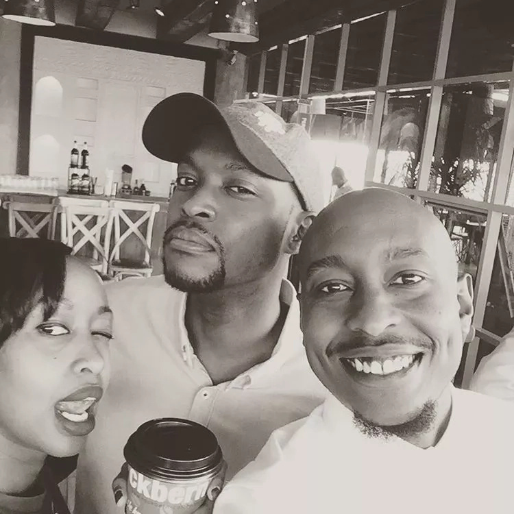 Janet Mbugua and her twin brother celebrate birthday