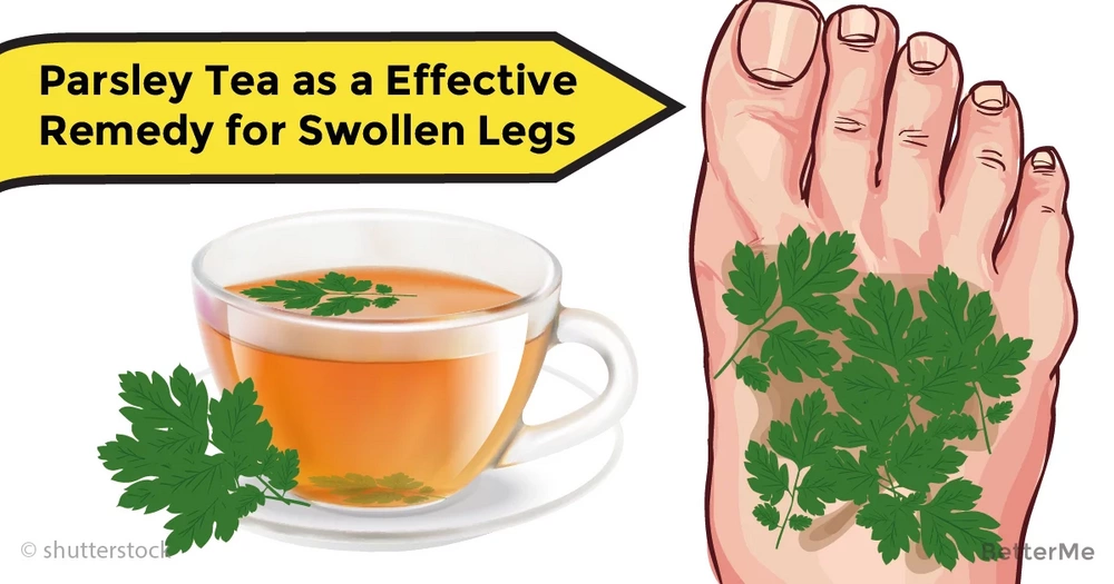 Here's why parsley tea is effective remedy for swollen legs