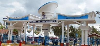Kenyatta University on fire