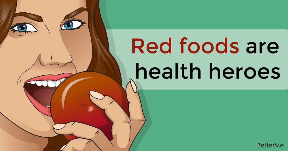 Red foods are health heroes
