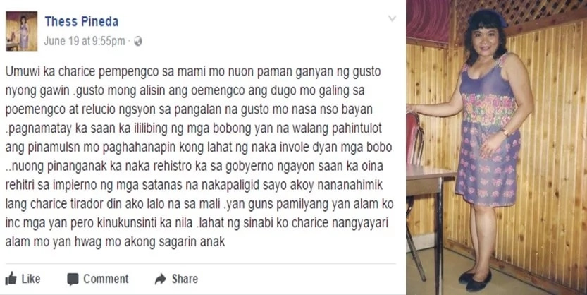 Charice Pempengco's lola is not happy with the idea of changing her name to Jake Zyrus