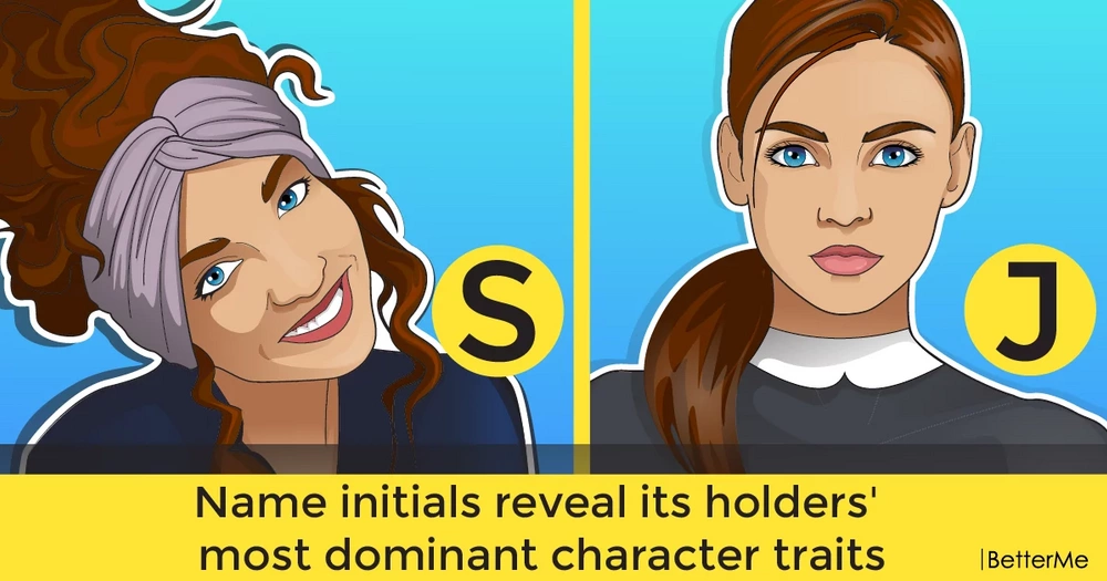 Name initials reveal its holders' most dominant character traits