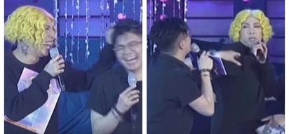 """Ang lakas mang-okray! Vice Ganda attacks Vhong Navarro for calling him """"panot"""""""