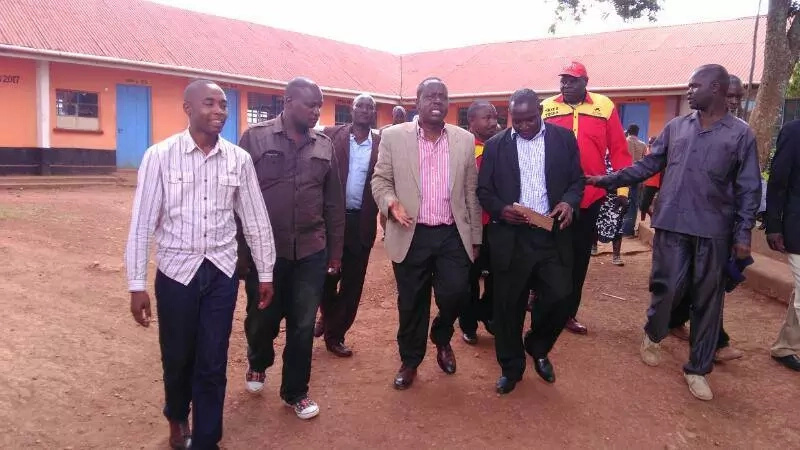 Matiang'i 'begs' Kisii residents to support Uhuru (video)