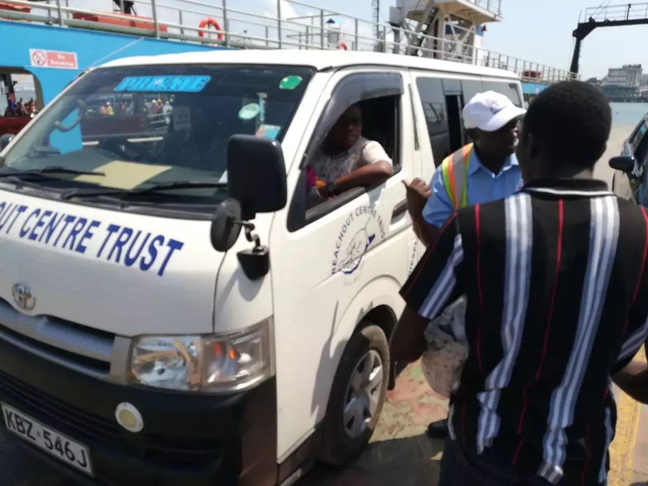God is great: medics help woman deliver beautiful baby girl inside Mombasa ferry (photos)