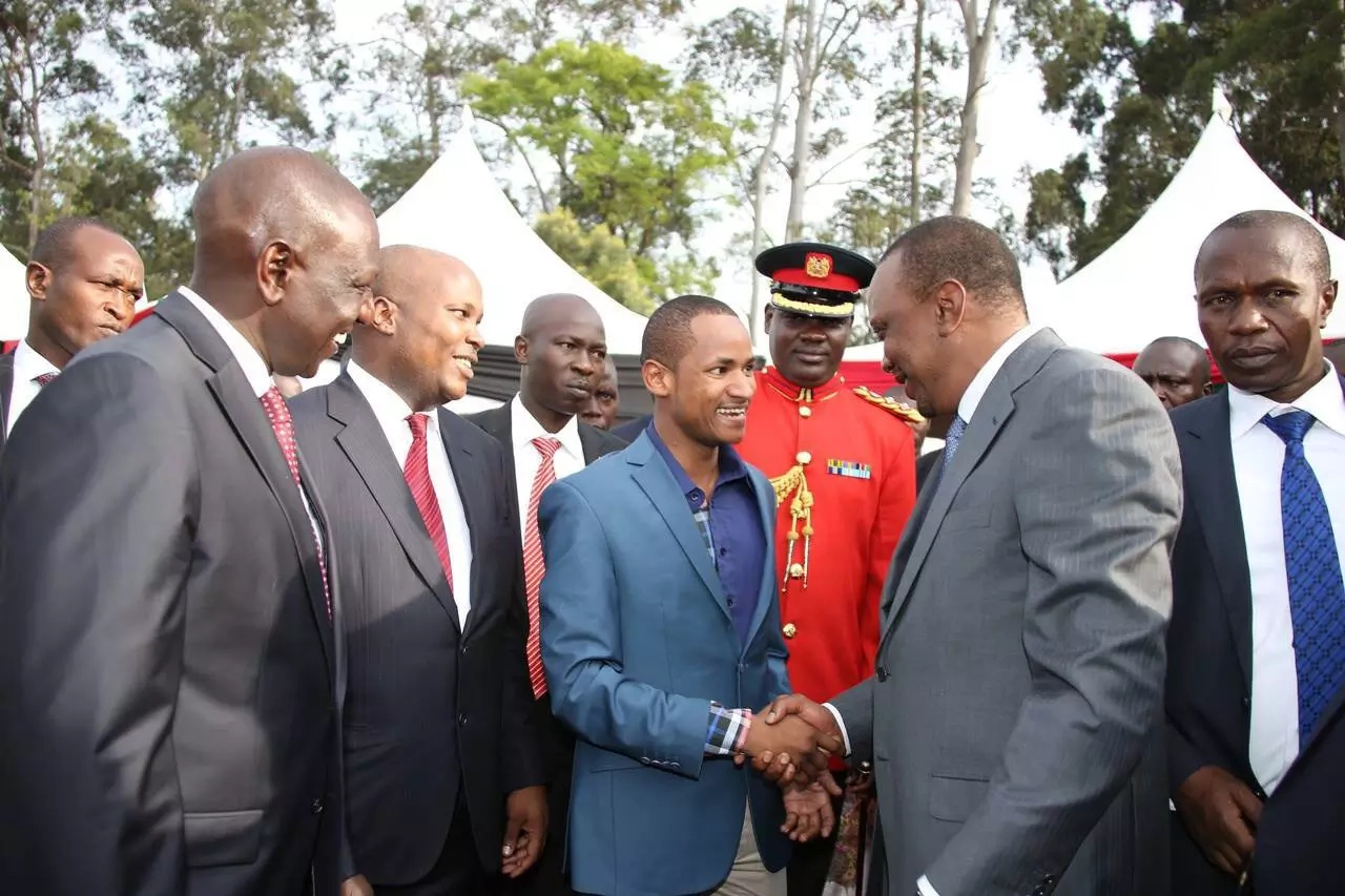 Babu Owino defends Bahati's move to unseat the president