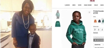 Kenyan mum living abroad trolled online for allowing son to wear hoodie labelled Coolest Monkey in the Jungle