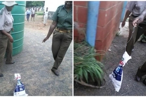Drama and chaos as teacher receives SNAKE gift parcel from haters (see photos)