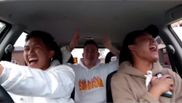 Two Filipinos and their American friend go viral with their funny Tagalog rap