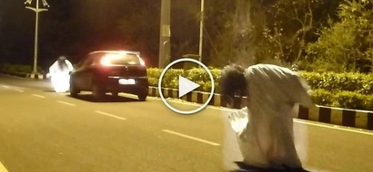 Horrible ghost prank goes deadly wrong for this crazy joker