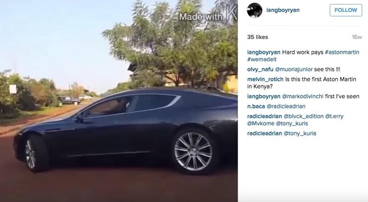 I Don't Own KSh 40 Million Car, Anne Waiguru's Son Says