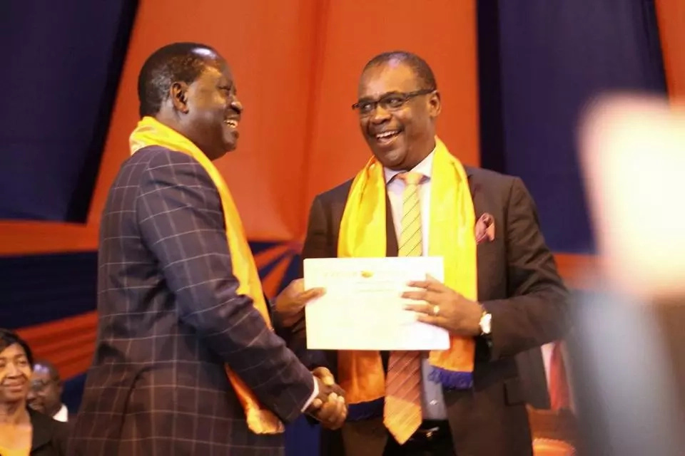 Kidero DEFIES Raila's directive days after Joho obeyed