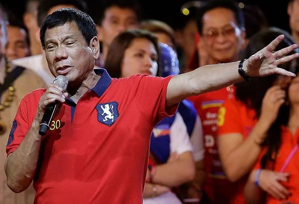 Duterte won't ride with No. 1 license plate