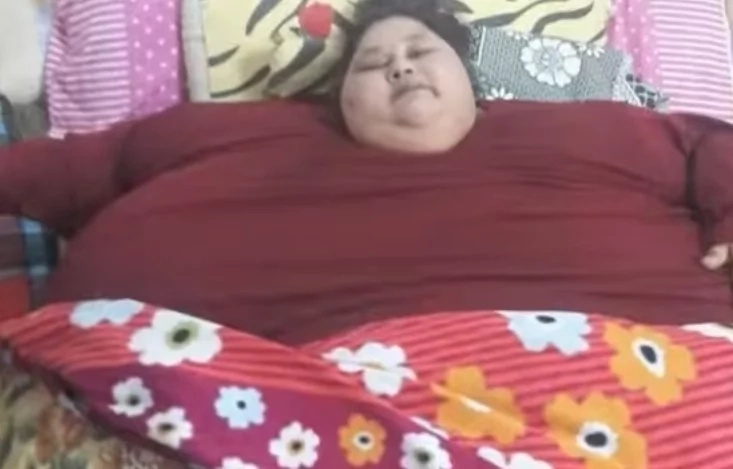 Egyptian bariatric patient Eman leaves for Abu Dhabi