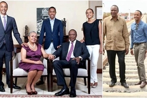 Uhuru's son who wedded from Raila's stronghold joins politics, details