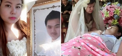 Woman marries her dead fiancé at his own funeral (photos, video)