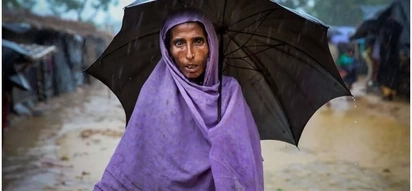 We have nothing! Rohingya refugee says soldiers killed her son and took away everything she had