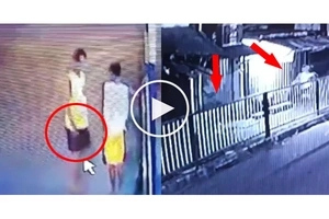 Two robbers chase victim in Rizal! Victim enraged as police officers let go of the robbers.