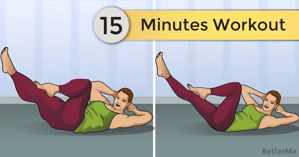 15-minute workout that can help you reduce side fat