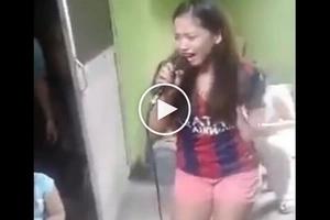 Ito ang pinakamagaling na version ng Butsikik! Pinay shares powerful version of OPM classic hit in epic videoke song number