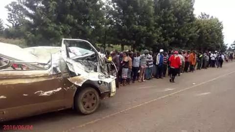 Five perish in Mwea accident including four schoolgirls