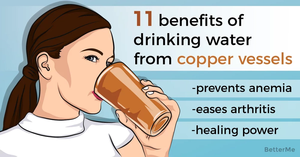 11 little known benefits of drinking water from copper vessels