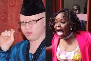 Drama as Millie Odhiambo and Isaac Mwaura clash on live TV