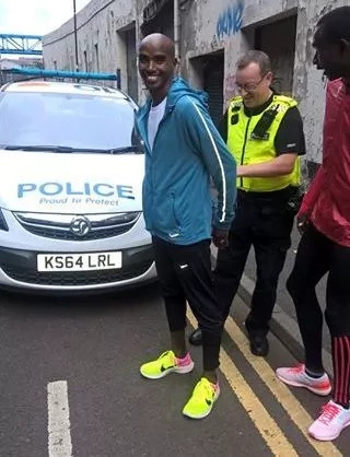 Olympic champs David Rudisha, Mo Farah arrested in England