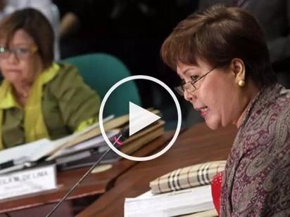 VIDEO: Sandra Cam THREATENS De Lima; vows to expose her darkest SECRETS!