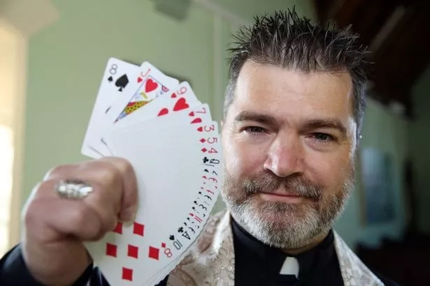 Was Jesus magician? Priest claims so as he wows his flock with baffling magic tricks during sermons