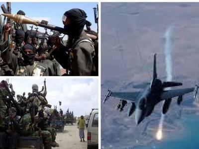 Several dead after KDF fighter jets bomb al-Shabaab camps