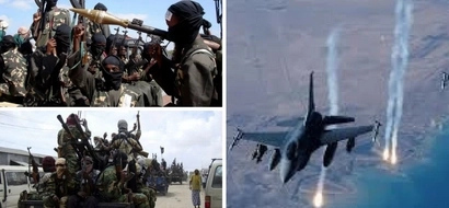 Several dead after KDF fighter jets bomb al-Shabaab camps