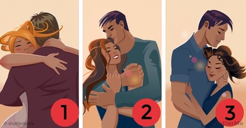 Which of these couples is the happiest? The choice can tell you secret about your own relationship!