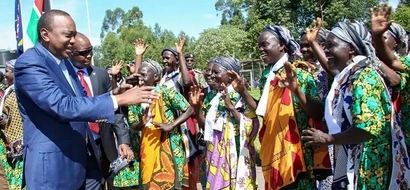 PHOTOS: How Western Kenya Welcomed Uhuru To Cord Stronghold