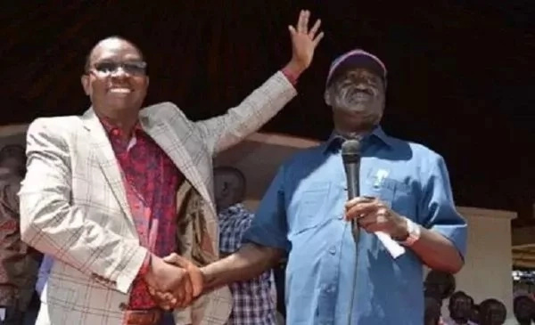 Onyango Oloo - I was spying for Raila in Jubilee