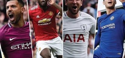 Top 10 English Premier League goalscorers after match day 12