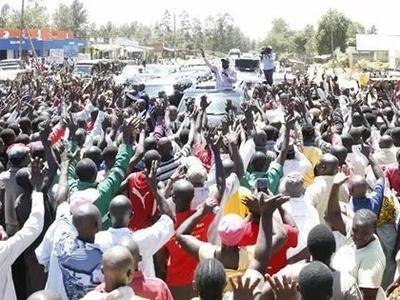 William Ruto ajitetea baada ya kupokelewa kwa fujo mjini Bungoma