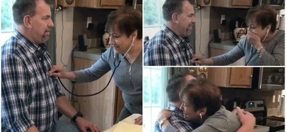 See EMOTIONAL moment mom hears dead son's heartbeat in someone else's chest (photos, video)