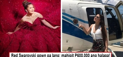 Daming umalma sa nakakalulang gastos! Isabelle Duterte's pre-debut shoot costs close to P1 Million with the red dress costing more than P600K!