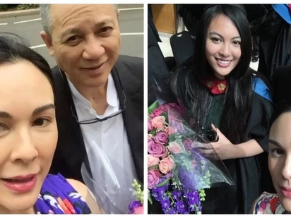 Ganap na designer na siya! Dominique Cojuangco graduates with a degree in fashion design from London