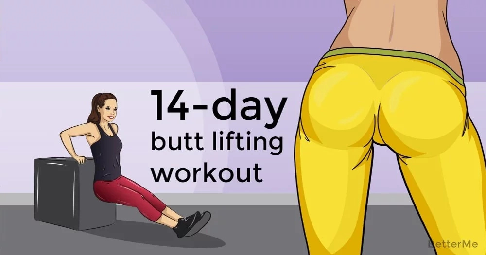 A 14-day butt lifting workout