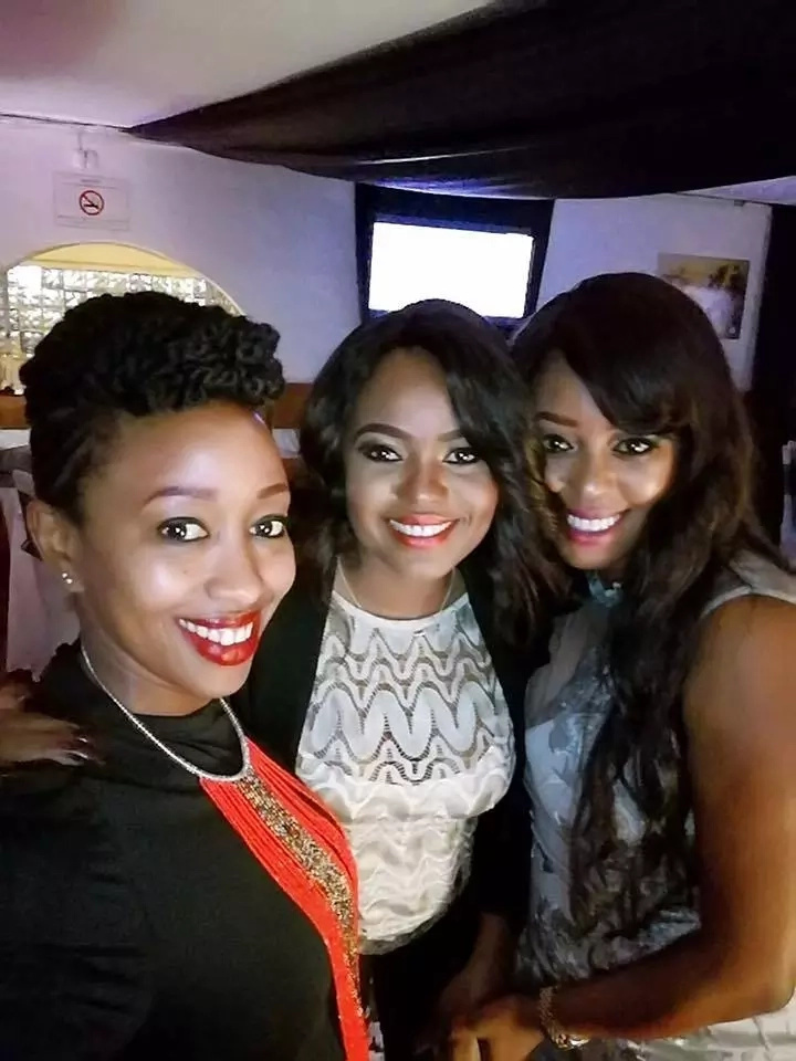 Janet Mbugua appears at Lilian Muli's birthday weeks after leaving Citizen TV (photos)