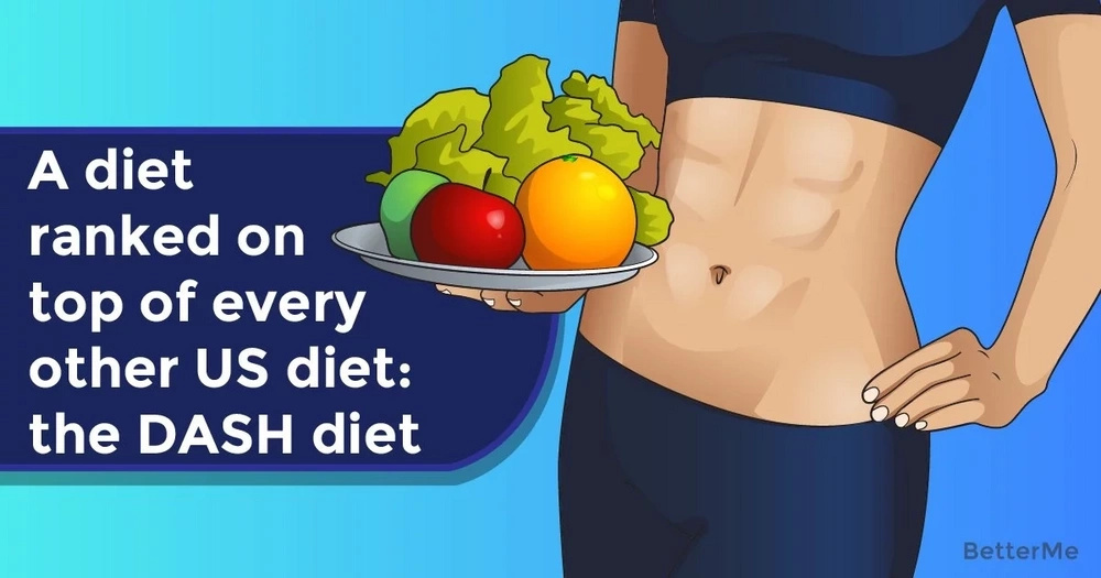 A diet ranked on top of every other US diet: the DASH diet