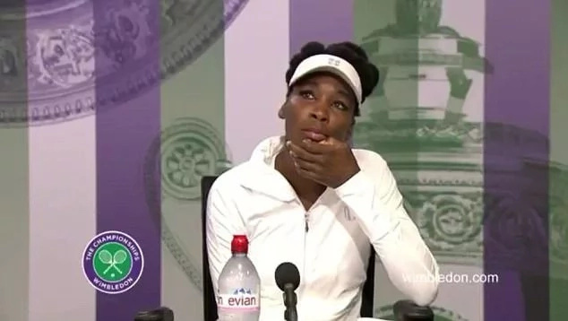 Venus Williams breaks down in tears at Wimbledon over fatal vehicle crash