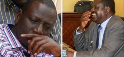 Raila amrushia Ruto KOMBORA masaa tu baada ya kukubali ana mtoto na 'mpango wa kando'